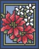 Christmas Flowers - 1 Baseplate Kit (1BP01)